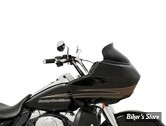 "PARE BRISE - MEMPHIS SHADES - SPOILER - ROAD GLIDE 15UP - HAUTEUR : 14CM / 5.5"" - COULEUR : BLACK OPAQUE"