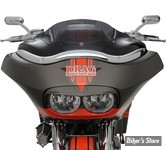 "PARE BRISE - KLOCK WERKS - FLARE WINDSHIELD - TOURING 98/13 - HAUTEUR : 8"" - COULEUR : DARK SMOKE"