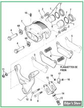 RESERVOIR CUSTOM - SPORTSTER 82/03 - QUICKBOB - AVEC CONSOLE CHROME - 15.10 LITRES - BOUCHONS A VIS
