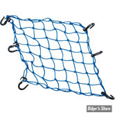 "FILET CARGO - POWERTYE - CARGOT NET - DIMENSIONS : 15"" X 15"" (38CM X 38CM) - COULEUR : BLEU"