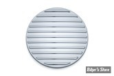 ECLATE I - PIECE N° 29A - INSERT DE CARTER PRIMAIRE - SOFTAIL/DYNA 07/17 - KURYAKYN - FINNED PRIMARY INSPECTION COVER ACCENT - CHROME - 6064