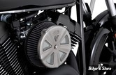 FILTRE A AIR - VANCE & HINES - VO2 AIR INTAKE - NAKED - YAMAHA XVS 950 BOLT 14UP : INSERT UNIQUEMENT - CROWN - CHROME MAT