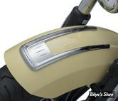 ENJOLIVEURS DE GARDE BOUE AVANT - INDIAN SCOUT - Legacy Front Fender Top Accent for Indian Scout - CHROME - 8729