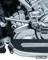 CACHE MOTEUR AVANT INFERIEUR - TOURING MILWAUKEE EIGHT 17UP - PRECISION™ LOWER FRONT ENGINE COVER - CHROME - 6423