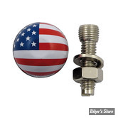 VIS - TRIK TOPZ - TRIK TOPZ LICENSE PLATE MOUNTS - FLAG / FINITION : US