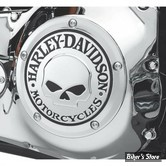 COUVERCLE D EMBRAYAGE - TWIN CAM SOFTAIL 99UP / DYNA 99UP / TOURING 99/15 - HD - Willie G. Skull Collection