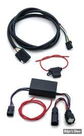 ATTACHE REMORQUE - TOURING 14UP - KURYAKYN : Câblage de remorque et harnais de relais -  Wiring & Relay Harnesses - 5 FILS - 2595