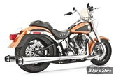ECHAPPEMENT FREEDOM PERFORMANCE - AMERICAN OUTLAW DUAL - SOFTAIL 97/06 - CORPS CHROME/ SORTIE CHROME