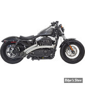 ECHAPPEMENT BASSANI - RADIAL SWEEPERS - SPORTSTER 14UP - CHROME