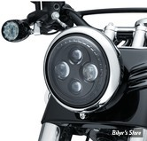 "7"" - OPTIQUE LED - KURYAKYN - ORBIT 7"" LED HEADLIGHT - 2476"