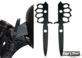 KIT REHAUSSEUR DE RÉSERVOIR AVANT - SPORTSTER 95UP - ZODIAC - DAGGER / PUNCH - +2""