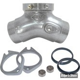 PIÈCE N° 14 / 15 - PIPE D'ADMISSION POUR CARBURATEUR - BIG TWIN 84/99 - KIT DE CONVERSION - S&S