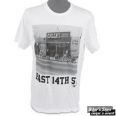 TEE-SHIRT - ARLEN NESS - STORE PHOTO EAST 14TH - COULEUR : BLANC - TAILLE 6 / 2XL