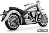 ECHAPPEMENT VANCE & HINES - SHORTSHOT STAGGERED - YAMAHA 1600 & 1700 ROAD STAR / WILD STAR 99/07 - CHROME - 18517