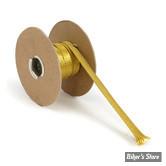 """GAINE DE FAISCEAU & CABLE - NAMZ BRAIDED COPPER & STEEL - DIAMETRE INTERNE : 1.27CM / 1/2"""" - COULEUR : LAITON"""