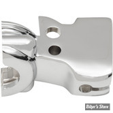 ECLATE L - PIECE N° 13 - SUPPORT DE LEVIER D'EMBRAYAGE - TOURING 08UP / SOFTAIL 15UP - CHROME