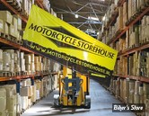 BANNIERE - MOTORCYCLE STOREHOUSE - EVENT BANNER - NYLON