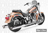 ECHAPPEMENT FREEDOM PERFORMANCE TRUE DUAL - RACING - SOFTAIL 97/06 - CORPS CHROME/ SORTIE CHROME