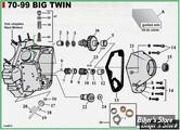 ECLATE I - PIECE N° 00 - ECLATE DES PIECES DE DISTRIBUTION - BIGTWIN 70/99