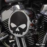 - FILTRE A AIR - WYATT GATLING - SPORTSTER 91UP - ROND SKULL - CHROME- COMPLET