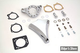 - FILTRE A AIR - WYATT GATLING - SPORTSTER 91UP - DIAMOND AIR CLEANER - CHROME - COMPLET