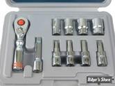 BOITE A DOUILLES -METRIQUE - TENG TOOLS - MiniSet Metric Box Kit - MSM1