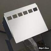 Cache batterie - SPORTSTER 82/03 - chromé