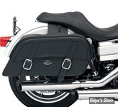SACOCHES CAVALIERE - SADDLEMEN - DRIFTER SLANT SADDLEBAGS (OBLIQUE) - THROW-OVER - TAILLE : EXTRA JUMBO