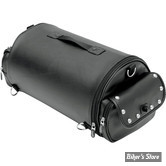 SAC DE SISSY BAR - SADDLEMEN - EX2200S : Sac Rollbag avec clous