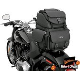 SAC DE SELLE ET/OU DE SISSY BAR - SADDLEMEN - BR3400EX/S - COMBINATION BACKREST SEAT AND SISSY BAR - SANS CLOUS