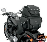 SAC DE SELLE ET/OU DE SISSY BAR - SADDLEMEN - BR3400EX/S - COMBINATION BACKREST SEAT AND SISSY BAR - Avec CLOUS