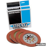 ECLATE A - PIECE N° 08 - DISQUES D'EMBRAYAGE - BIG TWIN 41/67 - DRAG SPECIALTIES - ORGANIC - LE KIT