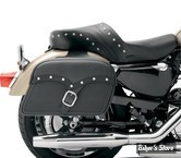 SACOCHES CAVALIERE - SADDLEMEN - MIDNIGHT EXPRESS DESPERADO SLANT SADDLEBAGS - TAILLE : EXTRA JUMBO