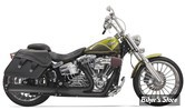 ECHAPPEMENT BASSANI - ROAD RAGE 2EN1 - SOFTAIL FXSB/SE 13UP / FXCW/C 08/11 - LONG/NOIR