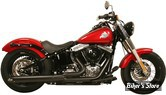 "ECHAPPEMENT RUSH - FULL SYSTEM - 2 EN 1 - SOFTAIL 86/17 - CHICANES 2.25"" - NOIR"