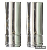 ECLATE N - PIECE N° 21 - TUBES DE FOURCHES CHROMES 39MM XL88/06 ET FXR 87/94 - 36 1/4 - CUSTOM CYCLE ENGINEERING - SHOW CHROME