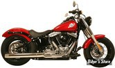 "ECHAPPEMENT RUSH - FULL SYSTEM - 2 EN 1 - SOFTAIL 86/17 - CHICANES 2.50"" - CHROME"