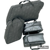 SAC D INTERIEUR DE SACOCHES RIGIDES - SADDLEMEN - TOURING 93/13 - QUATRES PIECES