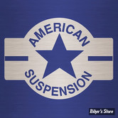 TES DE FOURCHE - AMERICAN SUSPENSION : KIT DE FIXATION POUR FLTR 98/14