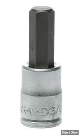 "Embout ALLEN / BTR US - 9.5MM - 3/8"" - CARRE DE 3/8"" - Teng Tools"