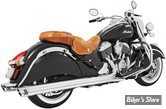 "SILENCIEUX FREEDOM PERFORMANCE - RACING - INDIAN CHIEFTAIN / ROADMASTER - 4"" - CORPS : CHROME / EMBOUT : CHROME"