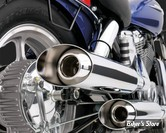 ECHAPPEMENT VANCE & HINES - CLASSICS II CRUISER - HONDA VT 1100 SHADOW / SPIRIT 87/07  - CHROME