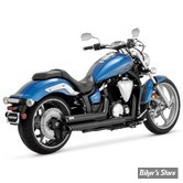 ECHAPPEMENT VANCE & HINES - TWIN SLASH STAGGERED - YAMAHA XV 950 & 1300 STRYKER 11UP - CHROME