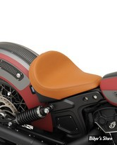 SELLE SOLO - INDIAN SCOUT / SCOUT SIXTY - DRAG SPECIALTIES - BOBBER-STYLE SOLO FRONT - LISSE - MARRON