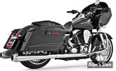 ECHAPPEMENT FREEDOM PERFORMANCE - AMERICAN OUTLAW DUAL - 2EN2 - TOURING 95/08 - CORPS : CHROME / SORTIE : CHROME