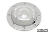 COUVERCLE D EMBRAYAGE - BIG TWIN 36/64 - Steel Dimple Derby Cover - CHROME