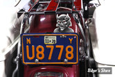 Emblême d'Entourage de plaque d'immatriculation - Devil License Plate Topper