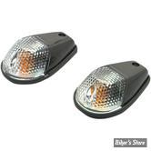 FEU DE CARROSSERIE - K&S TECHNOLOGIES INC. - MARKER LIGHT - CORPS : NOIR - CABOCHON : CLAIR - SIMPLE FILAMENT - 20401471 - 27-8022
