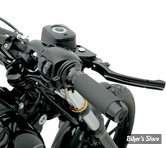 POIGNEES TODDS CYCLE - MOTO - AVEC CAOUTCHOUC - NOIR