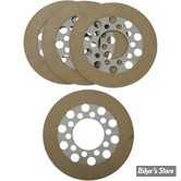 ECLATE A - PIECE N° 08 - DISQUES D'EMBRAYAGE - BIG TWIN 41/67 - ALTO - KEVLAR - LE KIT
